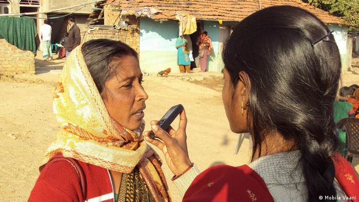 Indien Medienservice Mobile Vaani (Mobile Vaani)
