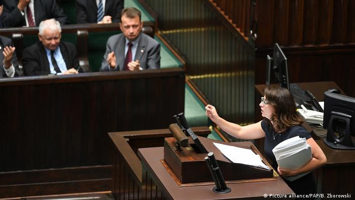 Polens Oberstes Gerichtshof (Picture alliance/PAP/B. Zborowski )