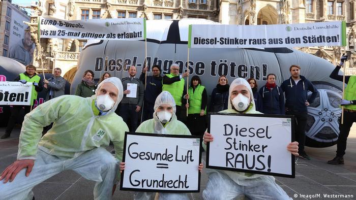 Deutsche Umwelthilfe DHU - Diesel-Verbot (Imago/M. Westermann)
