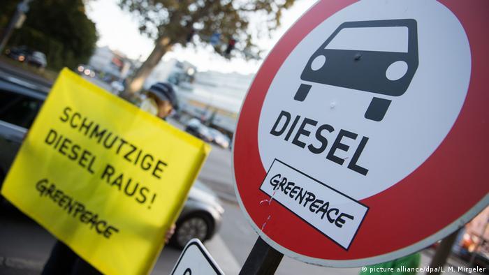 Deutsche Umwelthilfe DHU - Diesel-Verbot (picture alliance/dpa/L. M. Mirgeler)