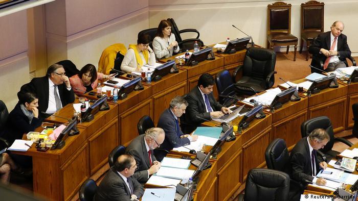 Chile Abtreibung Gesetzesänderung (Reuters/R. Garrido)
