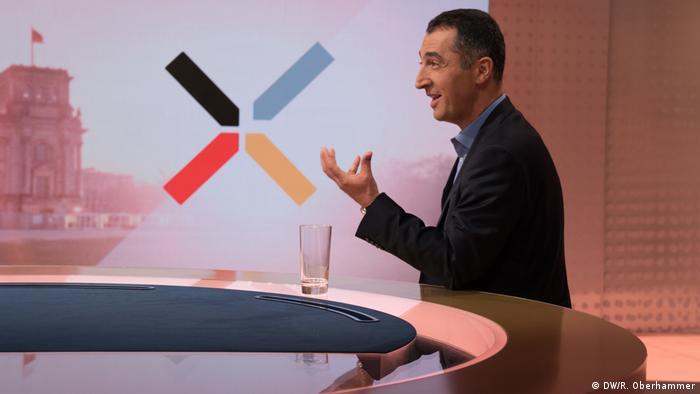 Cem Özdemir, candidato a canciller del partido alemán Los Verdes.