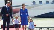 Deutschland Prinz William und Ehefrau Kate in Berlin