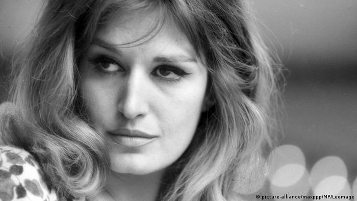 المغنية داليدا عام 1965 في روما