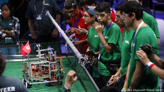 USA Global Robotics Challenge 2017 (picture alliance/AP Photo/J. Martin)