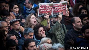 Протести проти арештів співробітників Cumhuriyet (архівне фото)