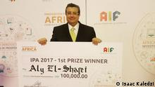 Innovation Prize for Africa - Gewinner Aly El-Shafei