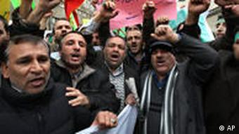 Demonstranten in Teheran (Foto: AP)