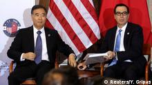 USA Washington - Steve Mnuchin und Wang Yang