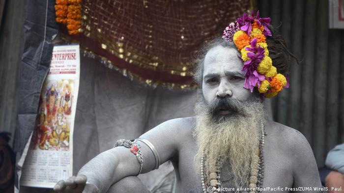 Indien Hindus feiern Makar Sankranti