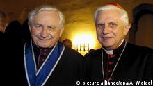 Ratzinger-Brüder seit 65 Jahren Priester
