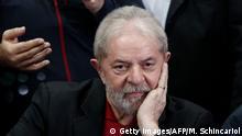 Brasilien Ex-Präsident Luiz Inacio Lula Da Silva