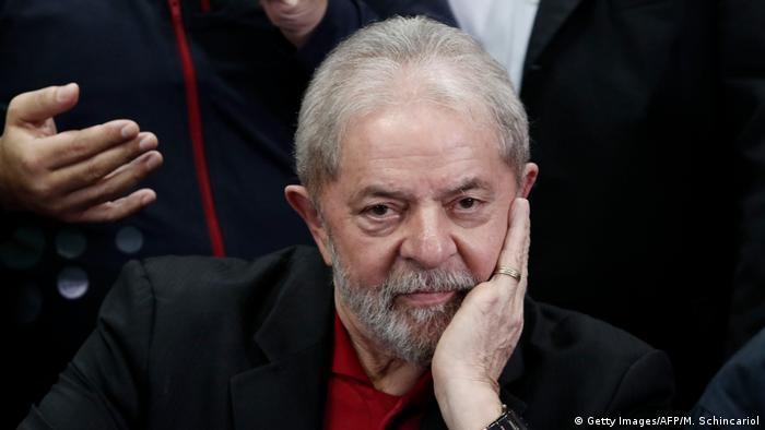 Brasilien Ex-Präsident Luiz Inacio Lula Da Silva (Getty Images/AFP/M. Schincariol)