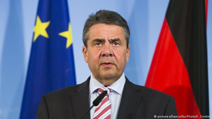 Deutschland Bundesaußenminister Gabriel (picture-alliance/NurPhoto/E. Contini)