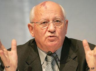 Former Soviet Union President Mikhail Gorbachev