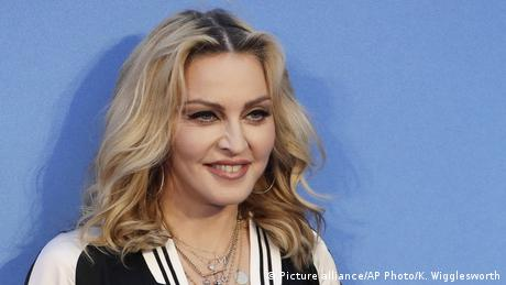Madonna (Picture alliance/AP Photo/K. Wigglesworth)
