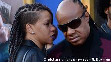 USA Stevie Wonder und Tomeeka Robyn Bracy
