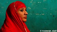 REFILE - CORRECTING TYPO IN HEADLINE - Bouncer Mehrunnisha Shokat Ali offers her evening prayer during holy month of Ramadan at her house in New Delhi, India, May 31, 2017. REUTERS/Adnan Abidi SEARCH DELHI BOUNCER FOR THIS STORY. SEARCH WIDER IMAGE FOR ALL STORIES. TPX IMAGES OF THE DAY
