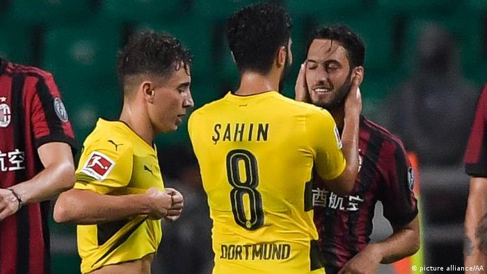 AC Milan v Borussia Dortmund - 2017 International Champions Cup (picture alliance/AA)
