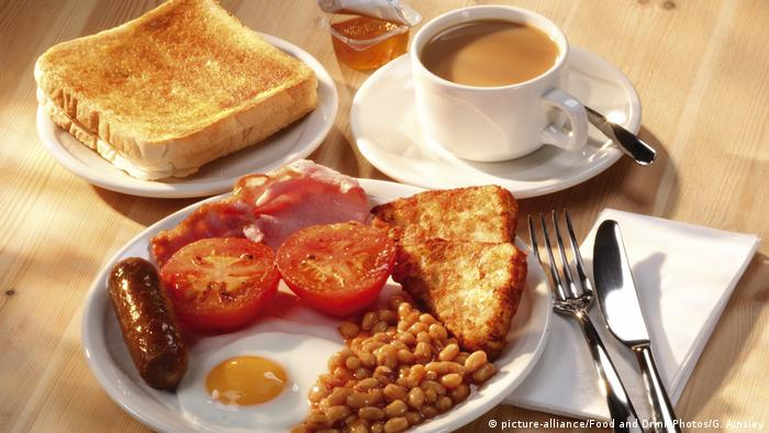 English breakfast (picture-alliance/Food and Drink Photos/G. Ainsley)
