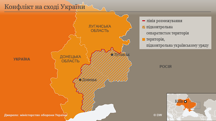 Конфлікт на сході України