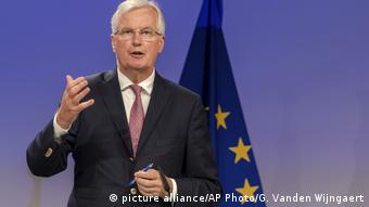 Michel Barnier in Brussells (picture alliance/AP Photo/G. Vanden Wijngaert)