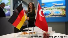 Germany and Turkey flags