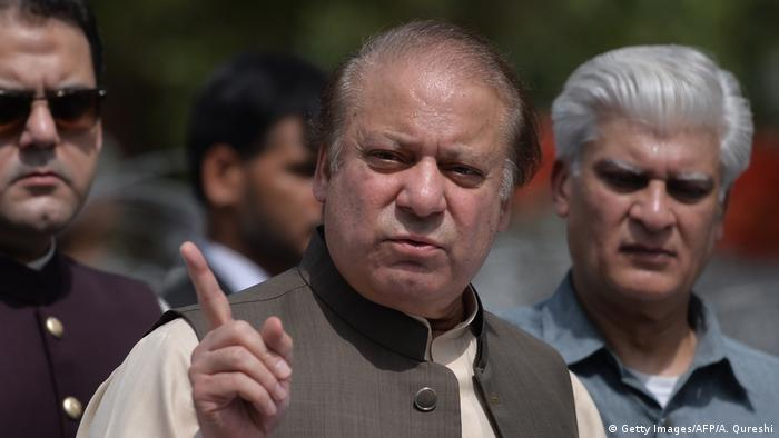 Pakistan Nawaz Sharif (Getty Images/AFP/A. Qureshi)