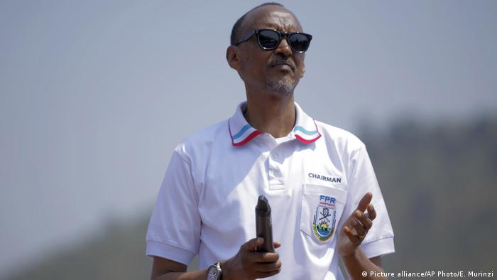 Paul Kagame (Picture alliance/AP Photo/E. Murinzi)