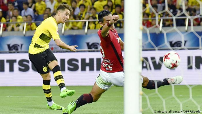 Fussball Freundschaftsspiel - Urawa Reds vs Borussia Dortmund (picture alliance/MAXPPP/Kyodo)