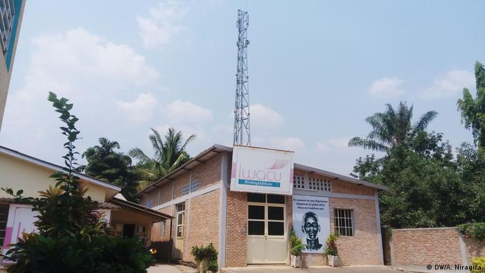 Office of the media group Iwacu in Bujumbura (DW/A. Niragira)