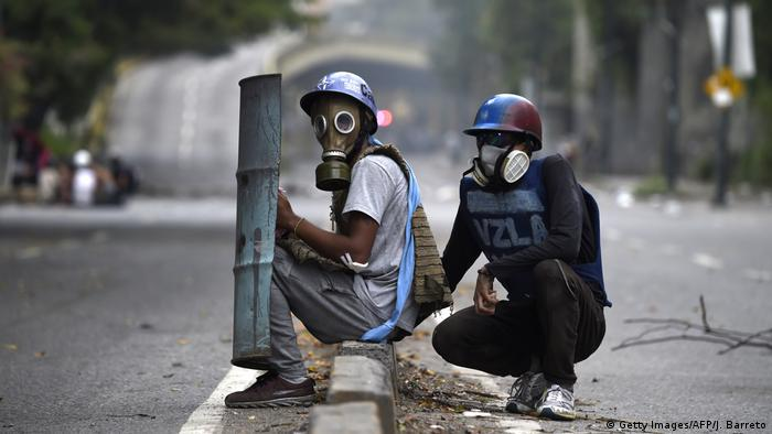 Venezuela Krise (Getty Images/AFP/J. Barreto)
