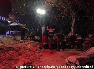 Последствия землетрясения на острове Кос