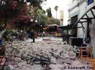 Наслідки землетрусу на острові Кос
