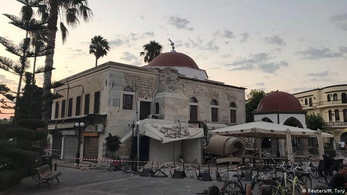 GRECIA: Deja dos muertos terremoto en la isla griega de Kos