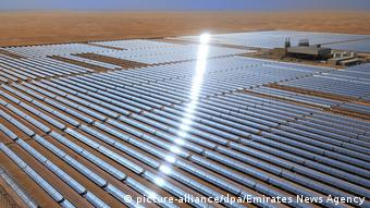 Об'єднані Арабські Емірати. Сонячна електростанція Shams 1 в Абу-Дабі