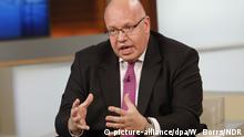 HANDOUT- Kanzleramtschef Peter Altmaier (CDU) nimmt am 09.07.2017 in Berlin an der Fernsehsendung «Anne Will» zum Thema «G20-Bilanz - War es das wert?» teil. ACHTUNG: Nur zur redaktionellen Verwendung in Zusammenhang mit der Berichterstattung über die genannte Sendung und nur bei vollständiger Nennung der Quelle: Foto: Wolfgang Borrs/NDR/dpa +++(c) dpa - Bildfunk+++ |