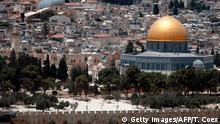 Israel verschärfte Sicherheitsvorkehrungen am Tempelberg in Jerusalem