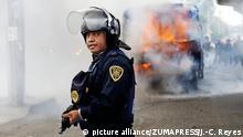 Operación policial en Ciudad de México este viernes (21.07.2017).