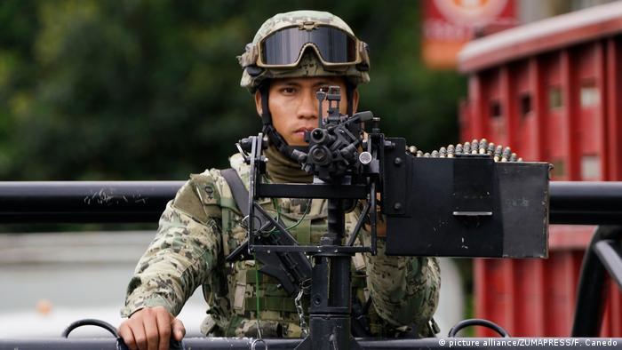 Mexiko | Acht Kartellmirglieder bei Schusswechsel in Mexiko-Stadt getötet (picture alliance/ZUMAPRESS/F. Canedo)