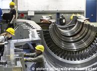 Производство газовых турбин Siemens в Берлине