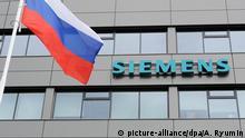 Siemens Gasturbinen Fabrik in Russland