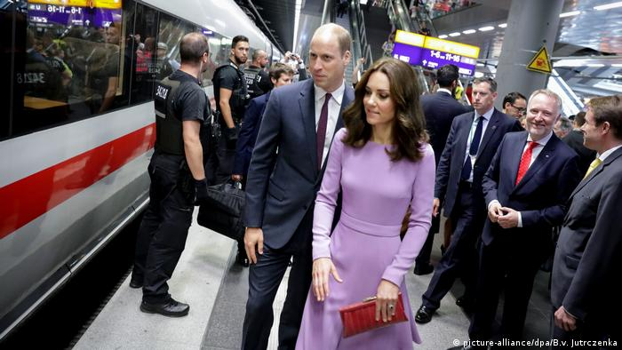 Prince William and wife Kate in Berlin (picture-alliance/dpa/B.v. Jutrczenka)