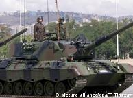 Турецкие танки Leopard на параде в Анкаре (фото из архива)