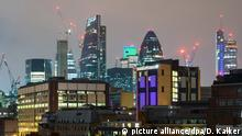 UK London | Skyline des Londoner Finanzzentrums The City