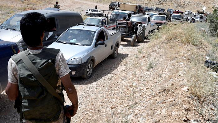 Понад тисяча бойовиків-ісламістів повертаються з Лівану до Сирії