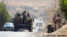 Libanon Grenzstadt Arsal, Militär