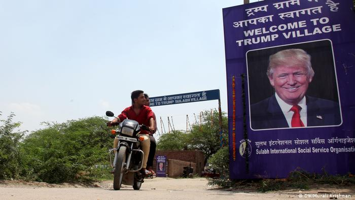 Indien Trump Village (DW/Murali Krishnan )