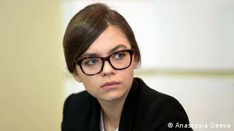 Анастасія Дєєва, заступниця міністра внутрішніх справ