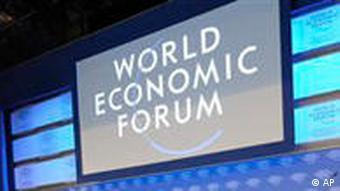 Weltwirtschaftsforum in Davos 2009